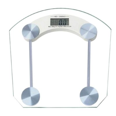 Transparent Digital Weight Scale