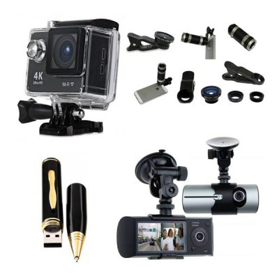 Camera, Lenses & Accessories