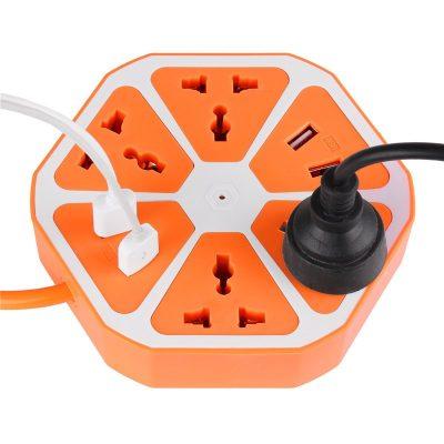 Hexagon USB Multiplug