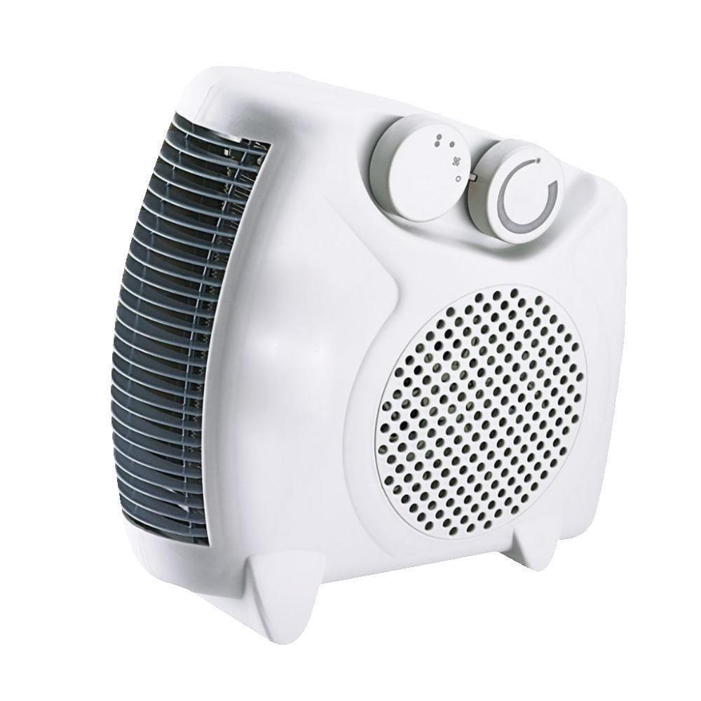 Portable Silent Electric Fan Heater Hot Amp Cool 2000w