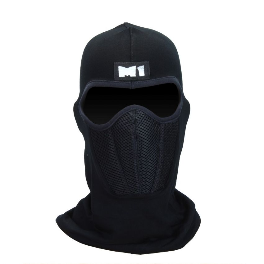 M1 Full Mask With Air Filter – Black