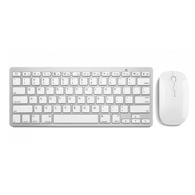 Mini Wireless Keyboard without Number Pad + Mouse