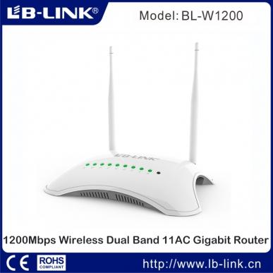 lb link w1200 router