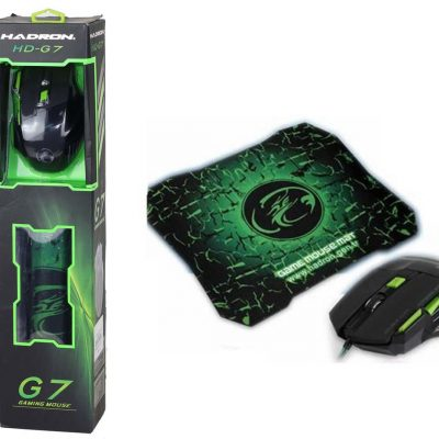 Hadron Hd-G7 Game Player Mouse And Mouse Pad