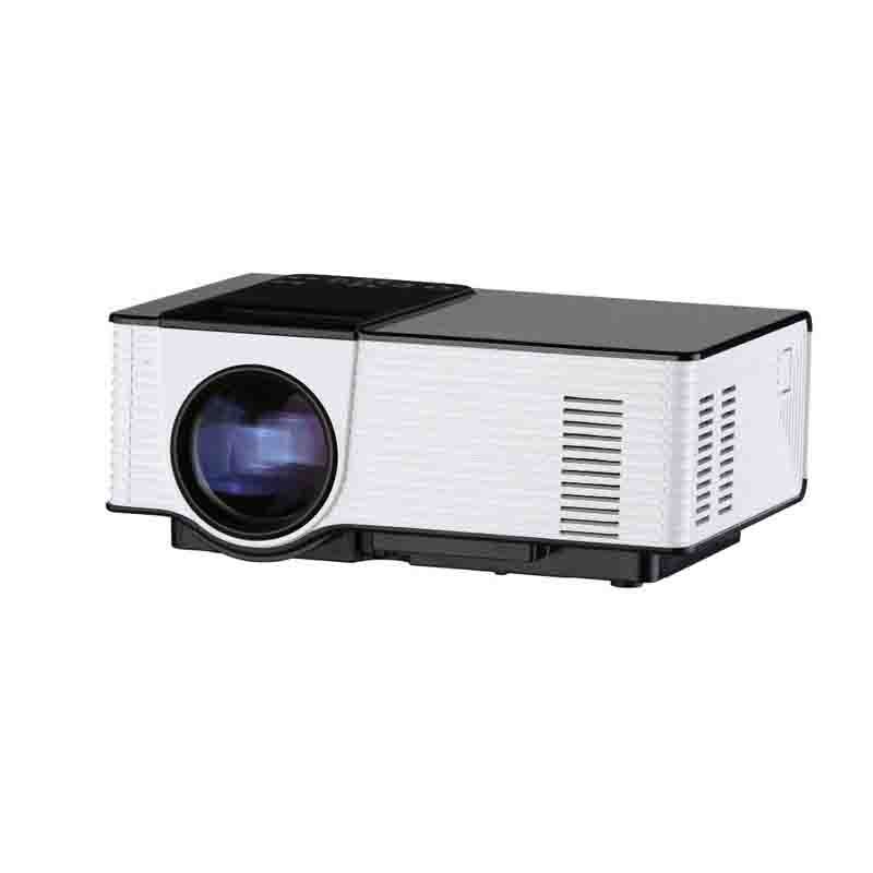 Popular E03 Tv Projector Mini Led Projector Home Theater: Mini LED Projector Portable HD