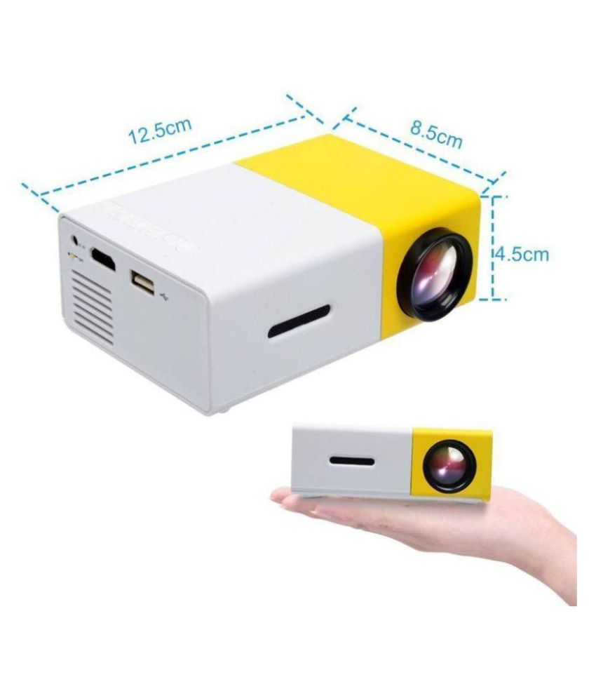 Yg300 mini portable pico led projector sd hdmi av sd usb for Best portable projector