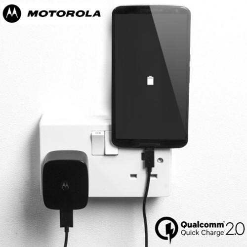 Motorola TurboPower Usb Charger Black