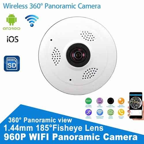 Panoramic V380S CCTV Wireless 2 4GHZ Security Camera