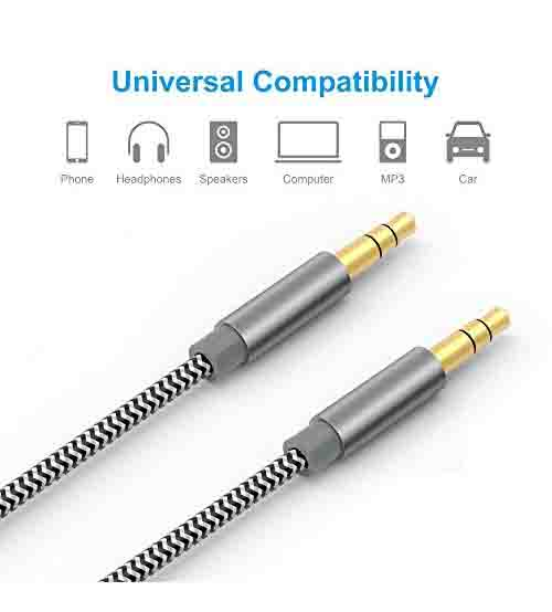 Laptop Speaker Wire : High quality audio cable mm stereo aux cord for mobile